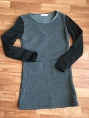 Платье- туника с начесом